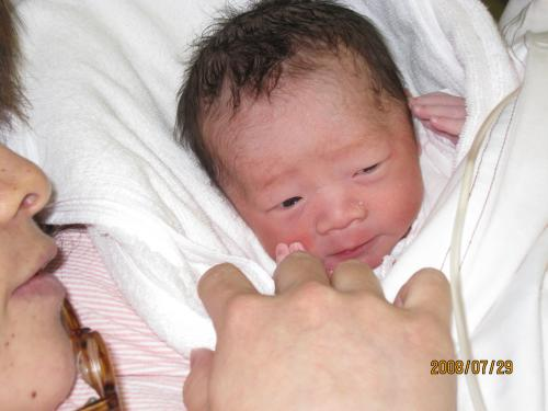 産まれたて
