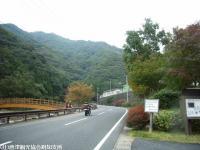 見帰りの滝ほたる橋(2008.11.6)