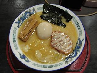 魚介醤油とんこつ