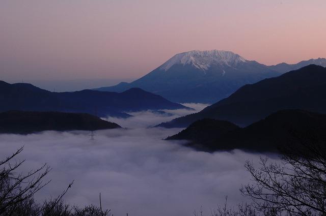 大山と雲海2