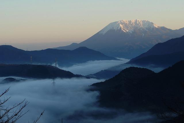大山と雲海5