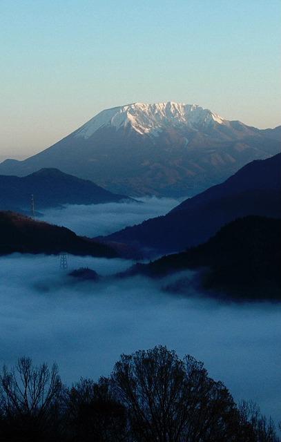 大山と雲海6