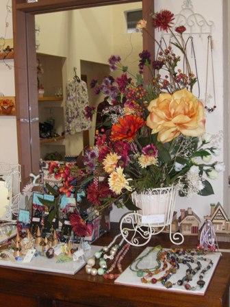 秋の花お店