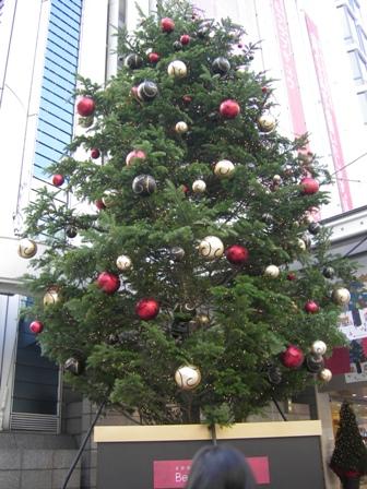東急のツリー