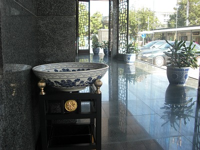 廊下と灰皿