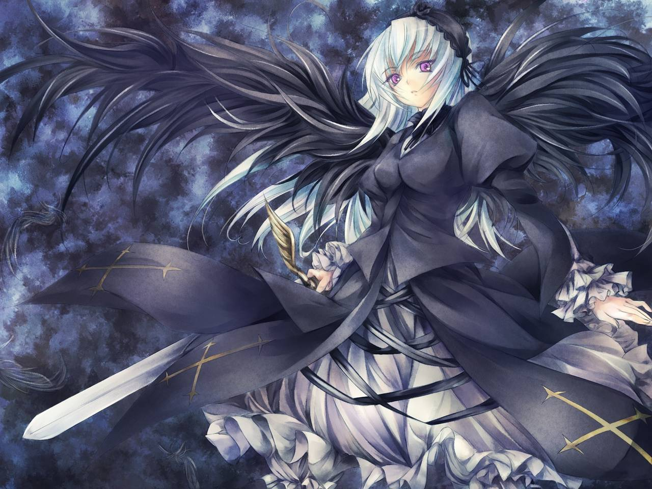 1 - Dark anime girl pics ...