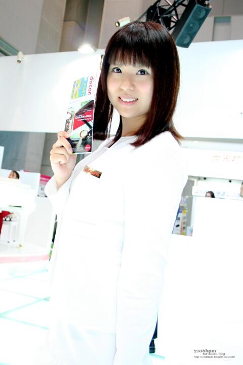 柚木麻美 / NTTドコモ -TOKYO MOTOR SHOW 2011-