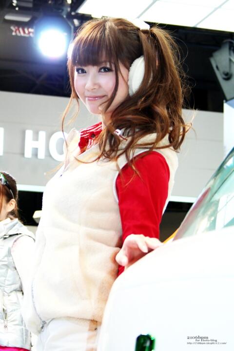 佐崎愛里 / 興和テムザック -TOKYO MOTOR SHOW 2011-