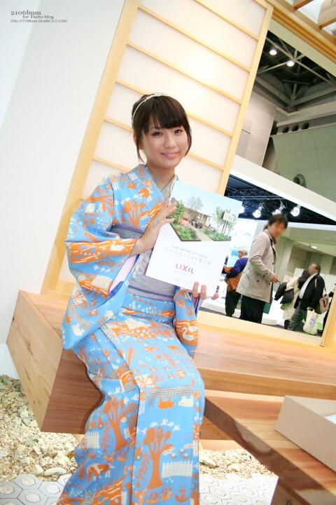細矢かな / リクシル -TOKYO MOTOR SHOW 2011-