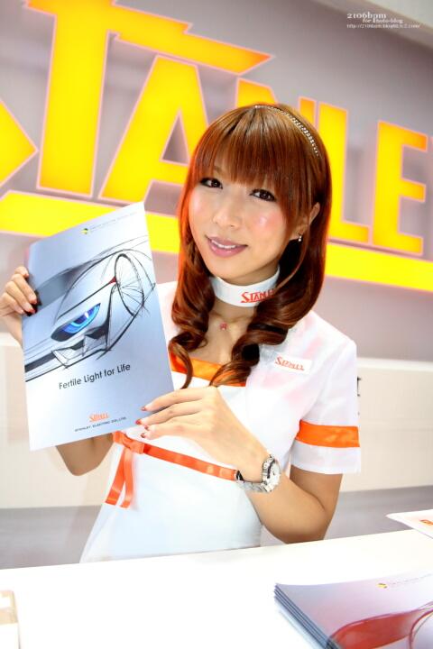 佐伯みゆ / STANLEY RAYBRIG -TOKYO MOTOR SHOW 2011-