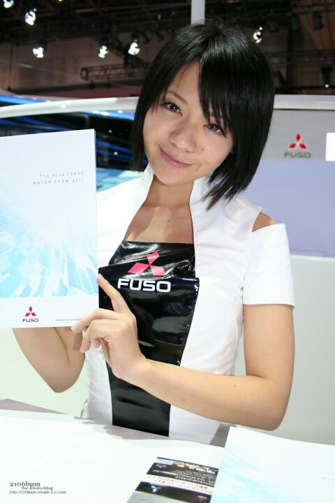奥野奈緒 / FUSO -TOKYO MOTOR SHOW 2011-