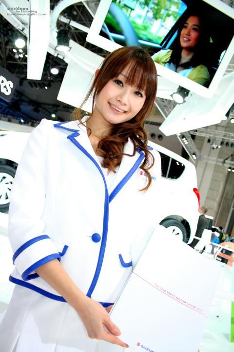 桜愛えみ / SUZUKI -TOKYO MOTOR SHOW 2011-