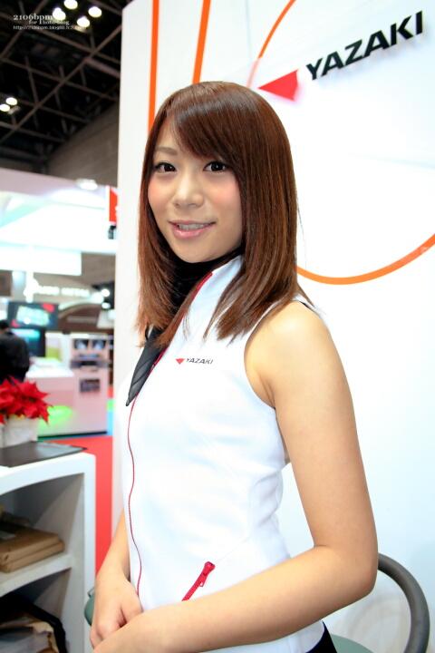 永瀬麻希 / YAZAKI -TOKYO MOTOR SHOW 2011-