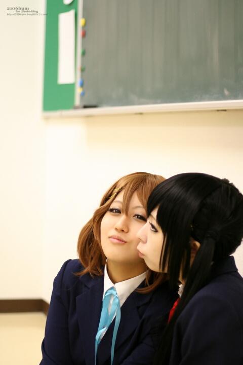 ☆小凪まゆ (中野梓) / 七海めい (平沢唯) @Studio Panda 3rd.☆