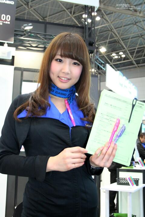 三田彩乃 / CASIO -リテールテックJAPAN 2012-