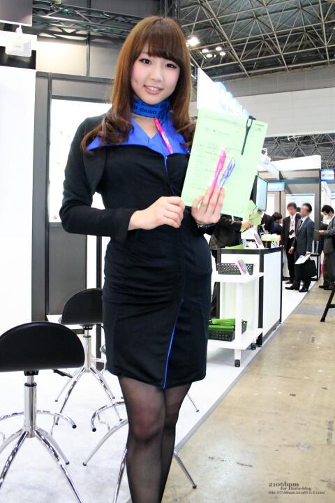 三田彩乃 / カシオ計算機 -リテールテックJAPAN 2012-