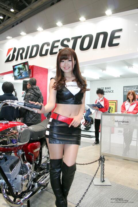 高橋としみ / BRIDGESTONE -TOKYO MOTOR CYCLE SHOW 2012-