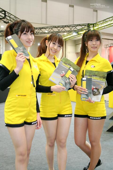 / DUNLOP -TOKYO MOTOR CYCLE SHOW 2012-