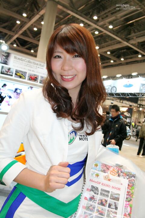 山田千春 / TWIN RING MOTEGI -TOKYO MOTOR CYCLE SHOW 2012-