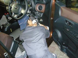 ヴィッツ 手動運転装置 ハンドコントロール 3