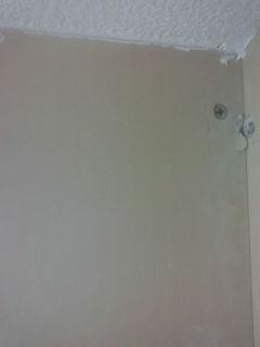 天井と壁の隙間②
