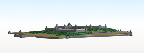 伏見城の全景2