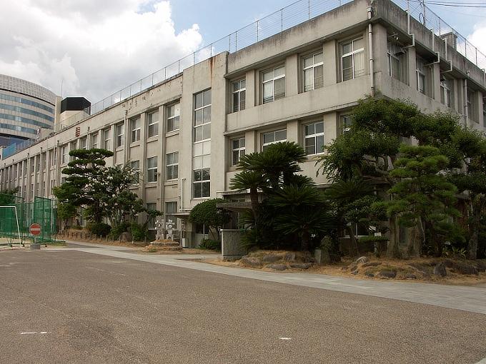 K596旧山下尋常高等小学校