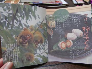 岐阜県の川上屋『柿の美きんとん』