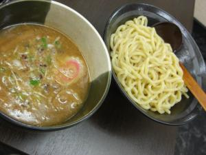 08071411麺屋 にし田・つけ麺(醤油)