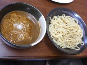 08072317麺屋にし田・味噌つけ麺