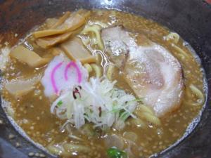 08072317麺屋にし田・味噌らーめん