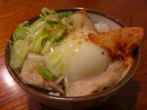 08072421満帆・まかない飯(中トロチャーシュー丼)
