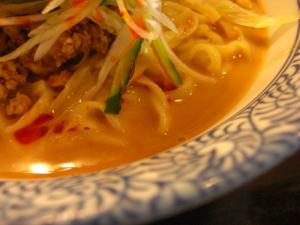 08072511とんや・夏季限定 冷し坦々麺 スープアップ