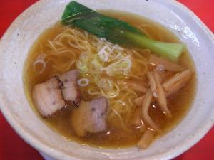 08081013俺ん家・丸鶏麺 醤油