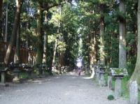 8/3 富士吉田の浅間神社 参道