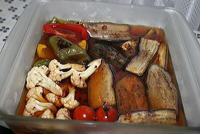 野菜の焼き浸し②