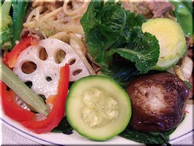 鮮やかな野菜たち