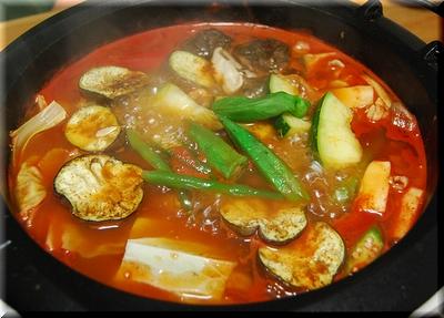 夏カレー鍋