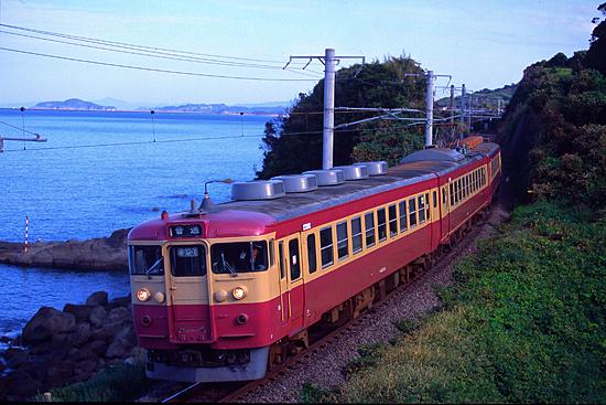 旧鹿児島本線のGK-5編成