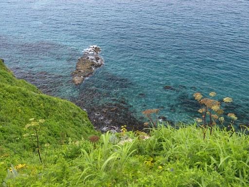 神威岬にて