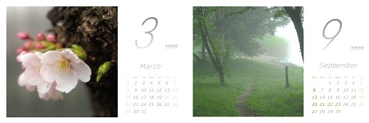 2009カレンダー