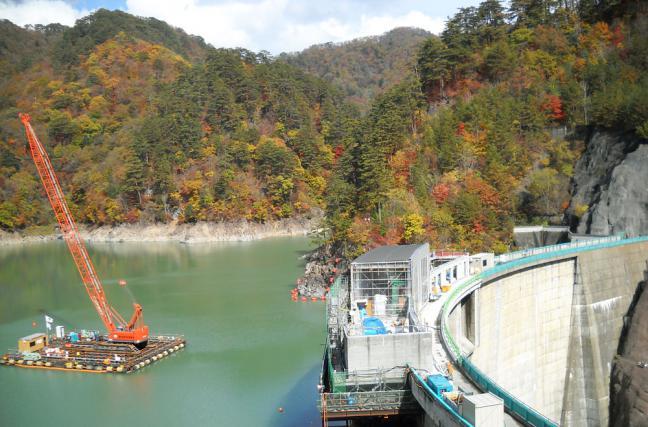 川俣ダムサイト
