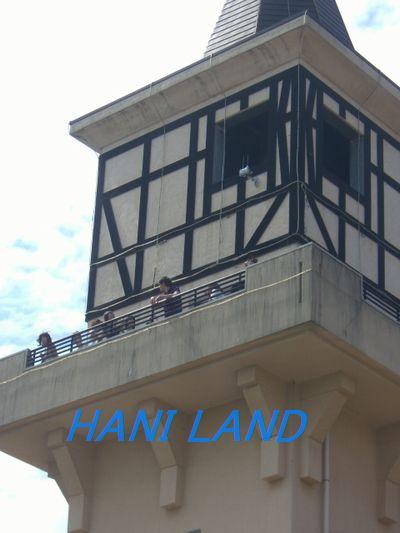 ツアー塔の展望