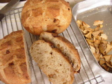 ドライりんごパン