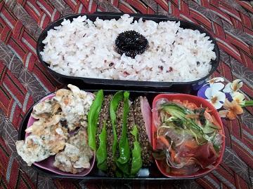 合鴨のお弁当