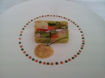野菜のテリーヌ#^.^#