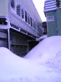 雪害老夫婦入口
