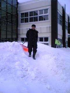 雪害ボランティア
