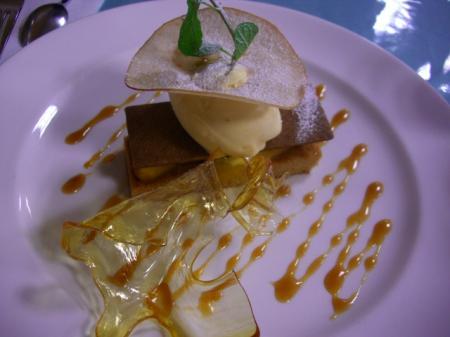 フランス展、りんごのパイ