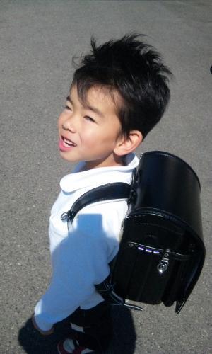 2011.4.6しゅう君 入学式